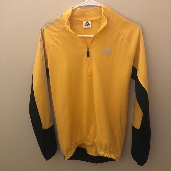 25cd086e9 adidas Jackets & Blazers - Black and Yellow Half-Vip Adidas Jacket (VINTAGE)